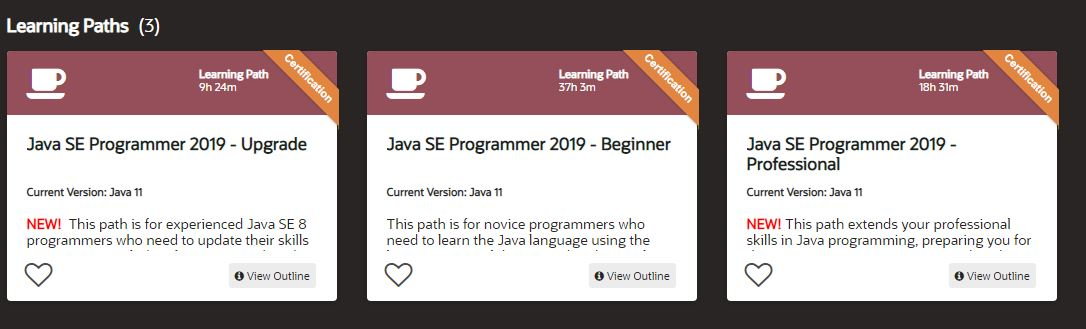 Java core learning subscription
