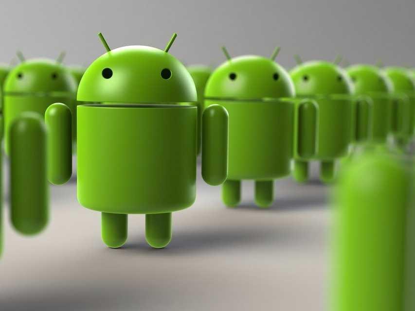 android robot mascot